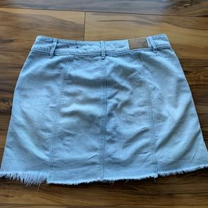 American eagle buttoned down cutoff skirt 6
